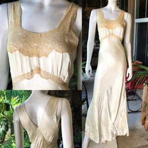 Other - Vintage 1930's Nightgown Slip Dress